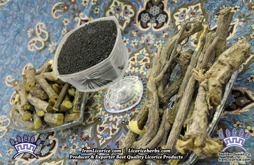 licorice herbs root granules herbs